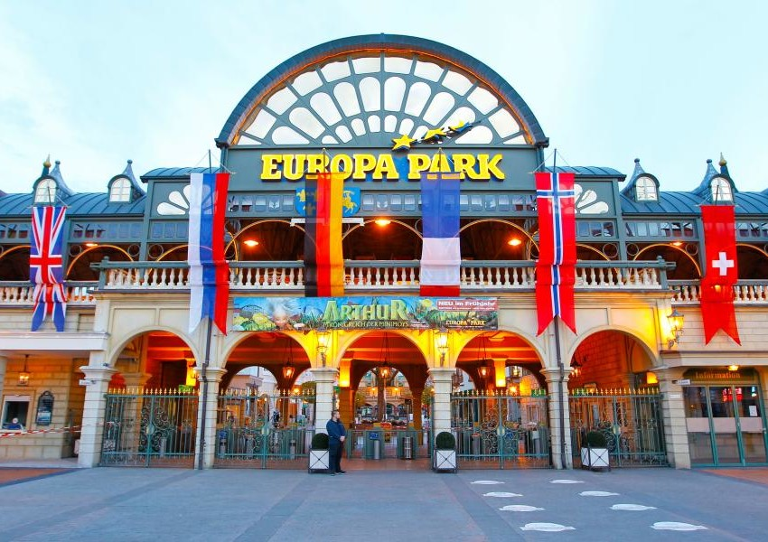 "Europa Park, Germany- ""The Land Of Fairy Tales."""